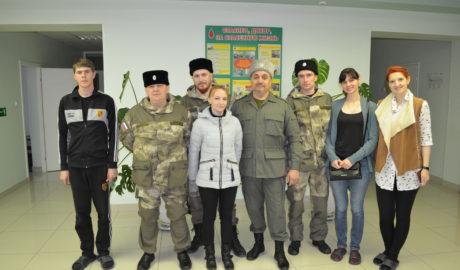 Тамбовские казаки и сдача крови в Тамбове.