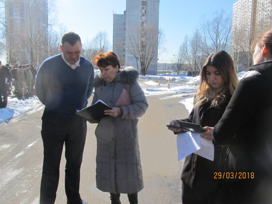 Посольская станица Войска Донского в Москве - тренировка.