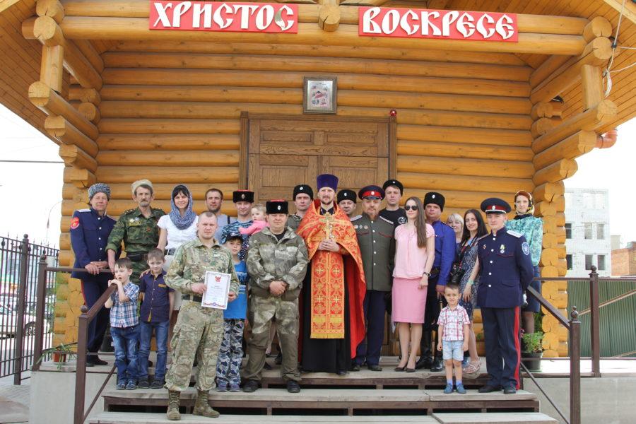 Присяга донских казаков в Тамбове.