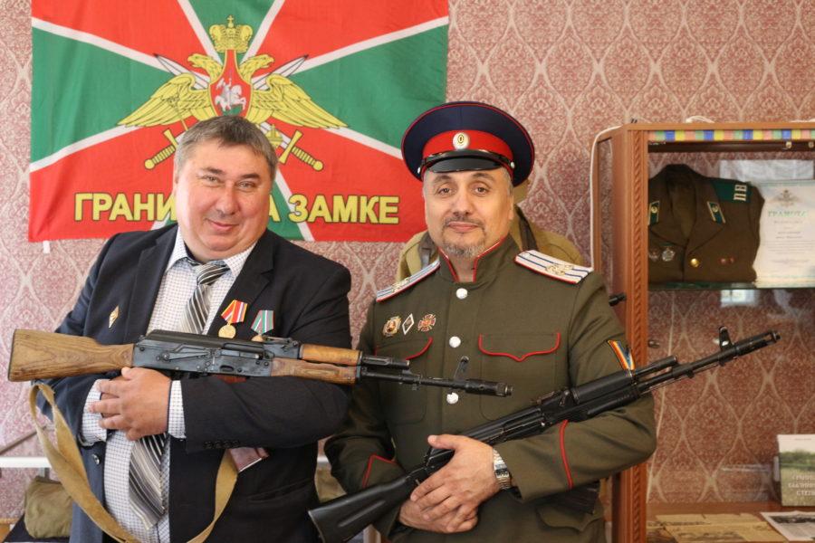 Пограничник и казак Войска Донского.