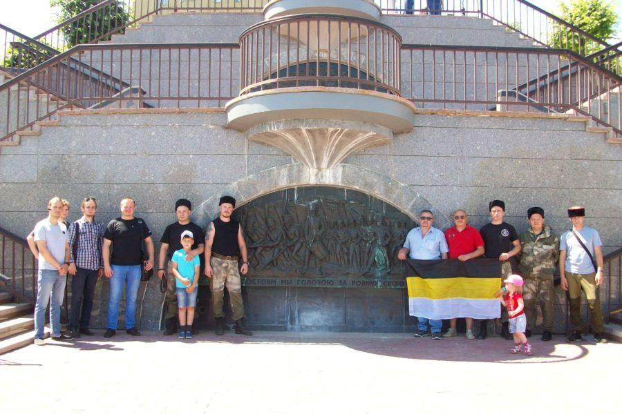 Донские казаки в Тамбове почтили память героев войны 1812 года.
