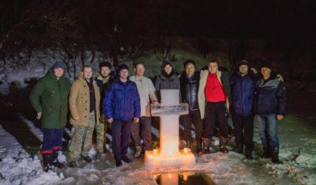 """Крещенская ночь станицы """"Донская"""" Тамбовского округа."""