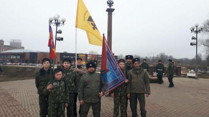 Казаки в Наро-Фоминске.