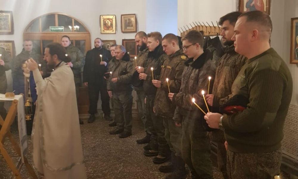 Молитва о усопших казаках.