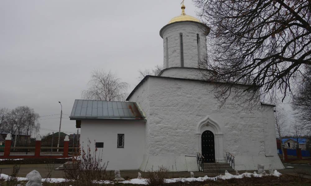 Никольский храм в селе Каменское.