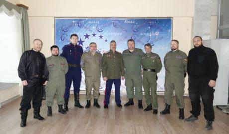 Атаман Игорь Мартынов посетил город Наро-Фоминск с рабочим визитом.