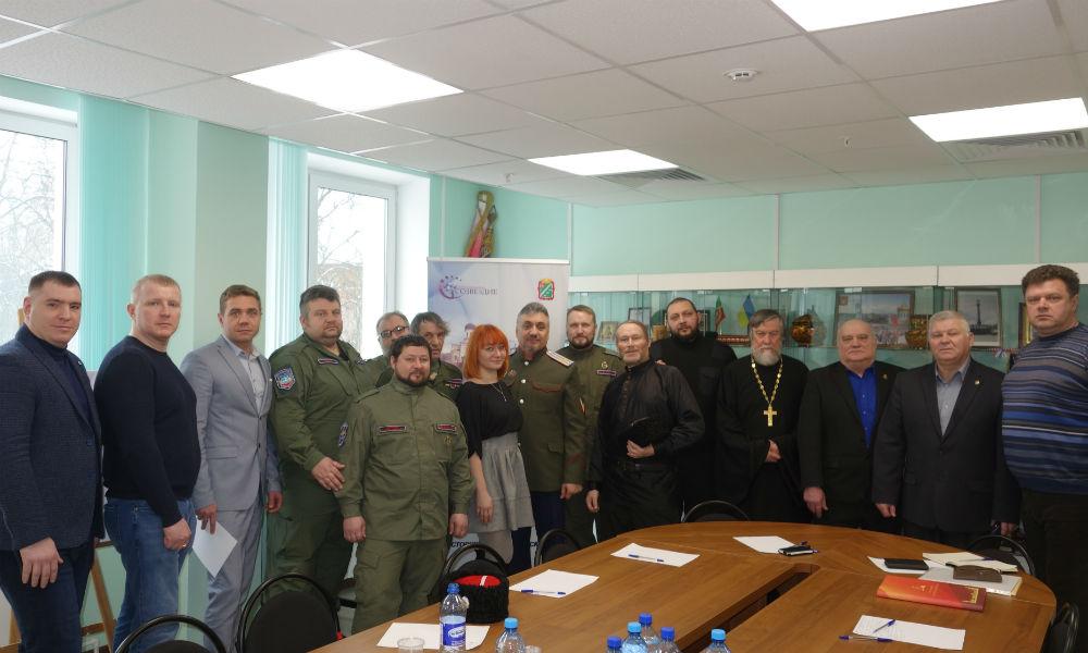 Круглый стол посвящённый 75-летию Великой Победы.