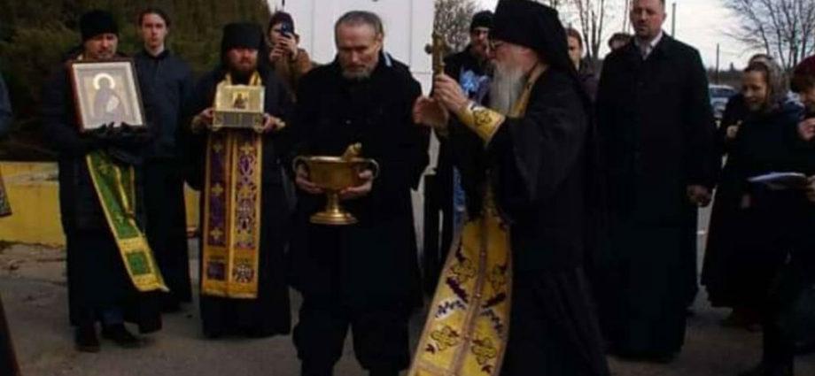 Казаки Калуги приняли участие в крестном ходе.