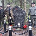 Казаки Наро-Фоминска взяли шефство по сохранению могилы героя.