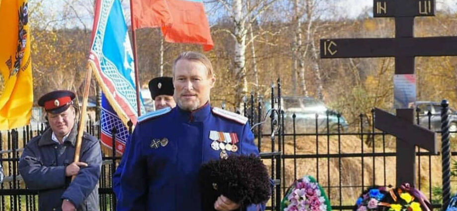 Казаки почтили память донских казаков.