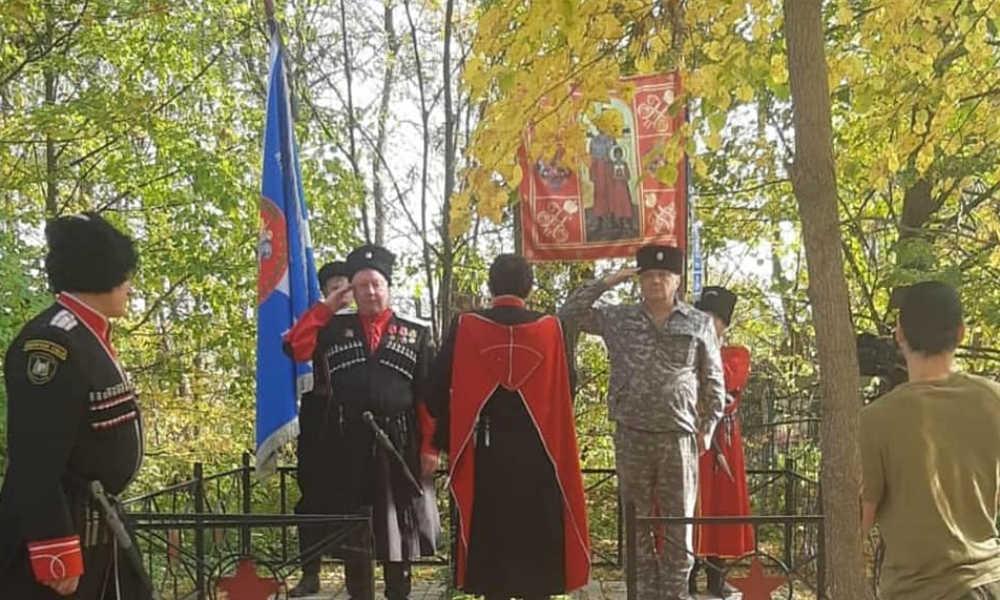 Казаки СДК посетили юбилейный сход.