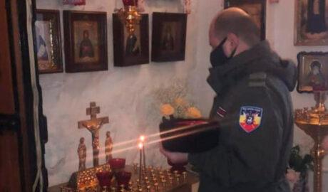 Казаки Наро-Фоминского отдела приняли участие в панихиде по убиенным казакам.