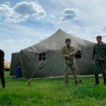 """Казаки """"Союза донских казаков"""" приняли участие в областном фестивале."""