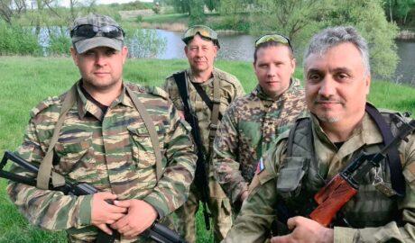 """Казаки станицы """"Донская"""" провели тактические занятия."""
